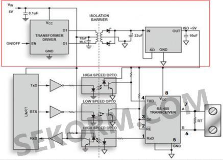 【应用】可满足不同供电需求的电源芯片,低成本rs-485