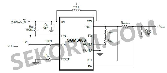 sgm6606的典型电路