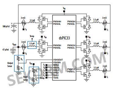 半桥功率电路图