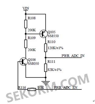 笔者采用定时器的方式,固定周期时间启动ad,检测电源电压.