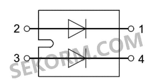 dcg100x1200na系列二极管的典型参数: 图5  dcg100x1200na等效电路图