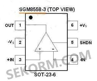 【产品】高输出驱动cmos运算放大器sgm8558系列,无线耳机射频功率放大