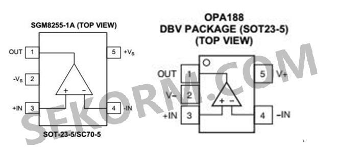 12v程控电源信号采集电路中应用sgm8255运算放大器成功替代opa188