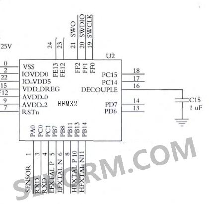 32位arm总线并行使用 介绍完器件及优势后,笔者对系统进行了硬件设计