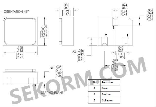 tt表面贴装pnp晶体管2n2907系列的主要应用: 通用开关 放大电路 信