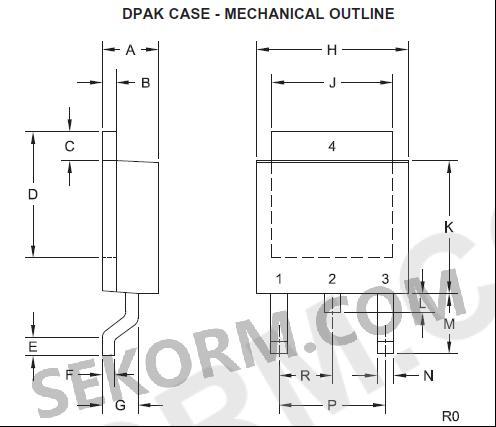 【产品】可互补npn型和pnp型功率晶体管,dpak标准贴片