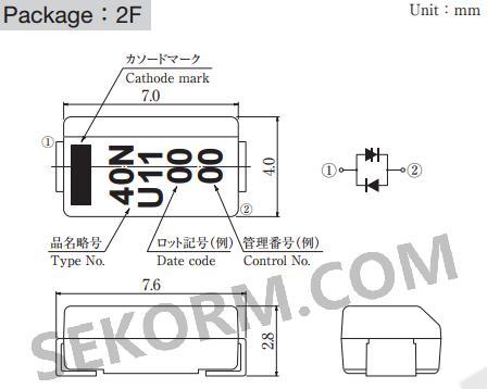 【产品】单向晶闸管浪涌抑制器,通态浪涌电流以及正向