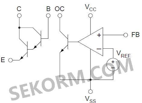 【产品】具有350v达林顿晶体管的低电压误差放大器,led灯泄放控制电路
