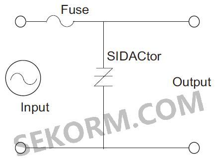 同时电源保险丝可保护交流线路电流和电源电路.