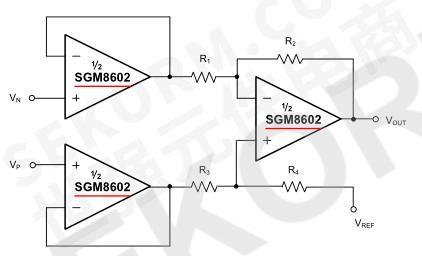 仪表放大器典型应用电路