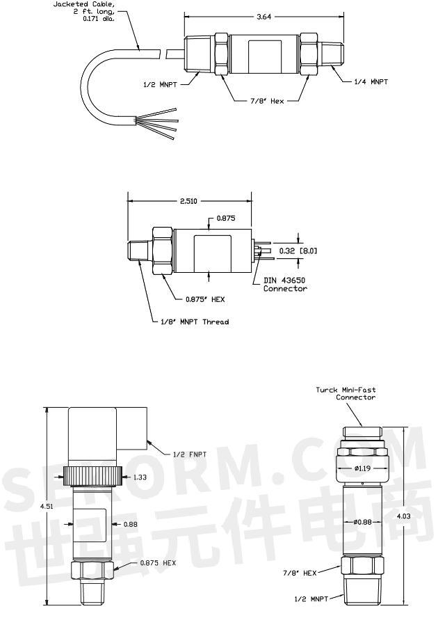 【产品】量程高达20,000psi本质安全型压力传感器,危险场合测试测量