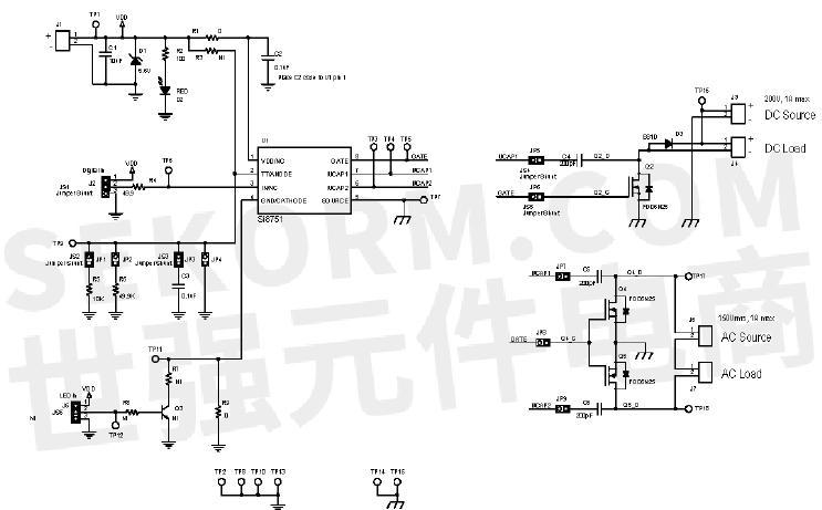 【经验】替换传统开关ssr固态继电器的开发板evb-si875x运用设计