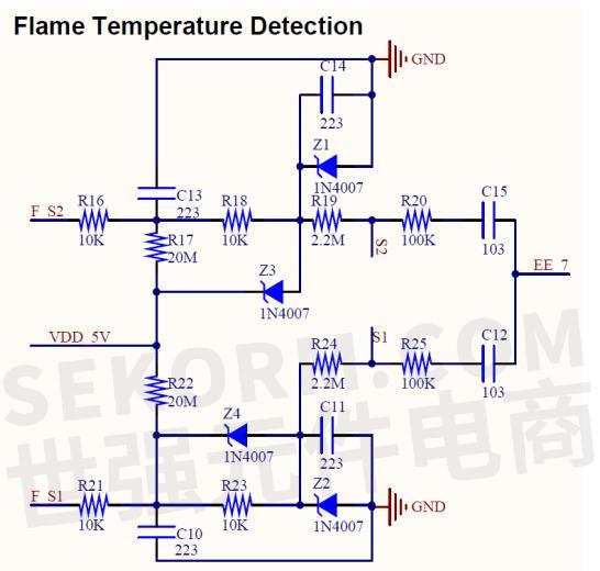 高压脉冲点火电路由振荡电路和高压电路组成.