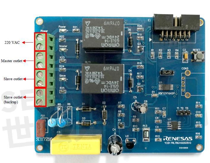 pcb硬件电路实物图