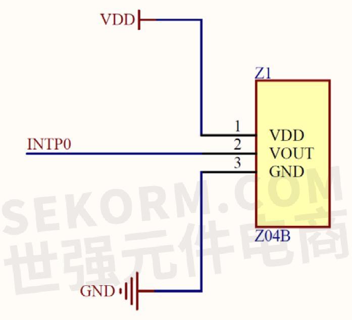 它可以用作门窗振动报警器的微型传感器头,安全报警器和实时监控电路.
