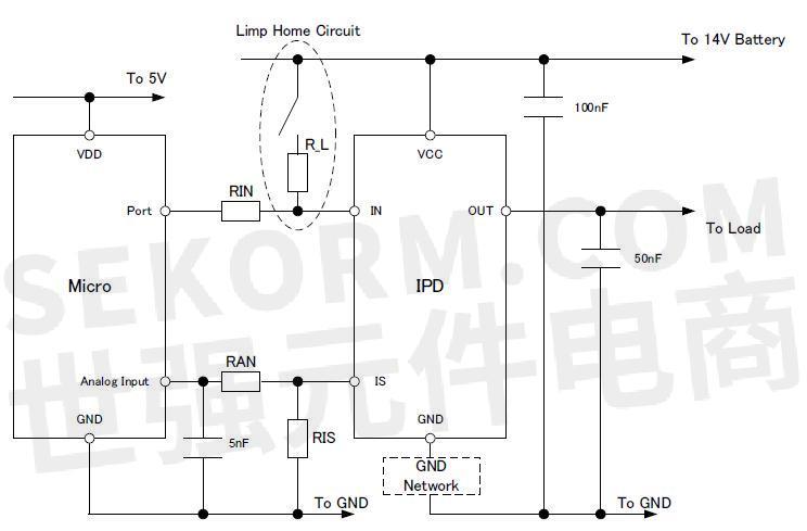 电感和电容负载以及电源管理应用,包括配电开关,加热器和电热塞等领域