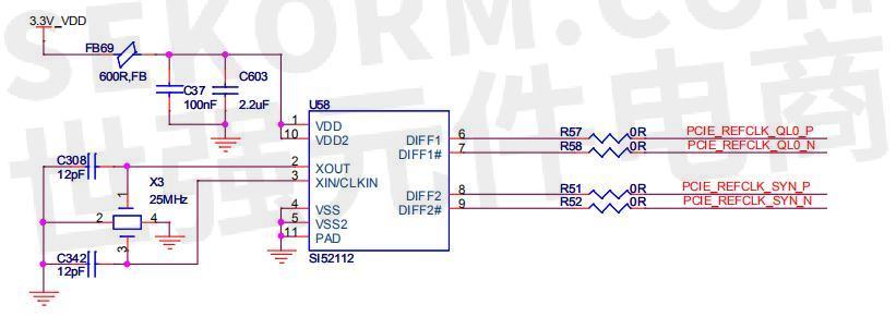 si52112的电路原理图