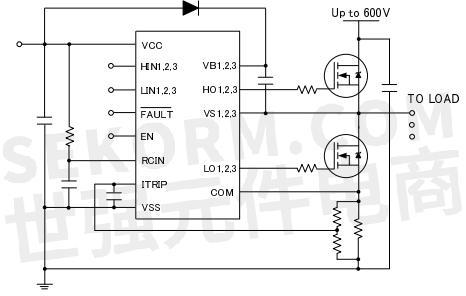 【产品】三相桥式驱动器bs2130f-g,bs2132f,自举电压高达600v,助力
