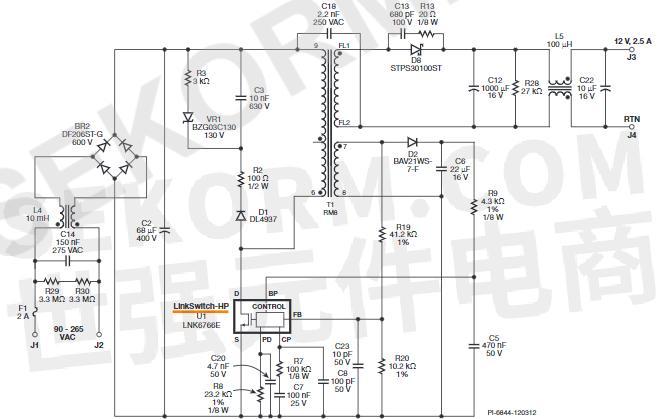 5 a适配器电路原理图