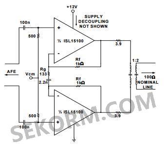 图二:isl15100典型应用电路