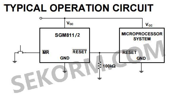 sgm811/2典型应用电路图