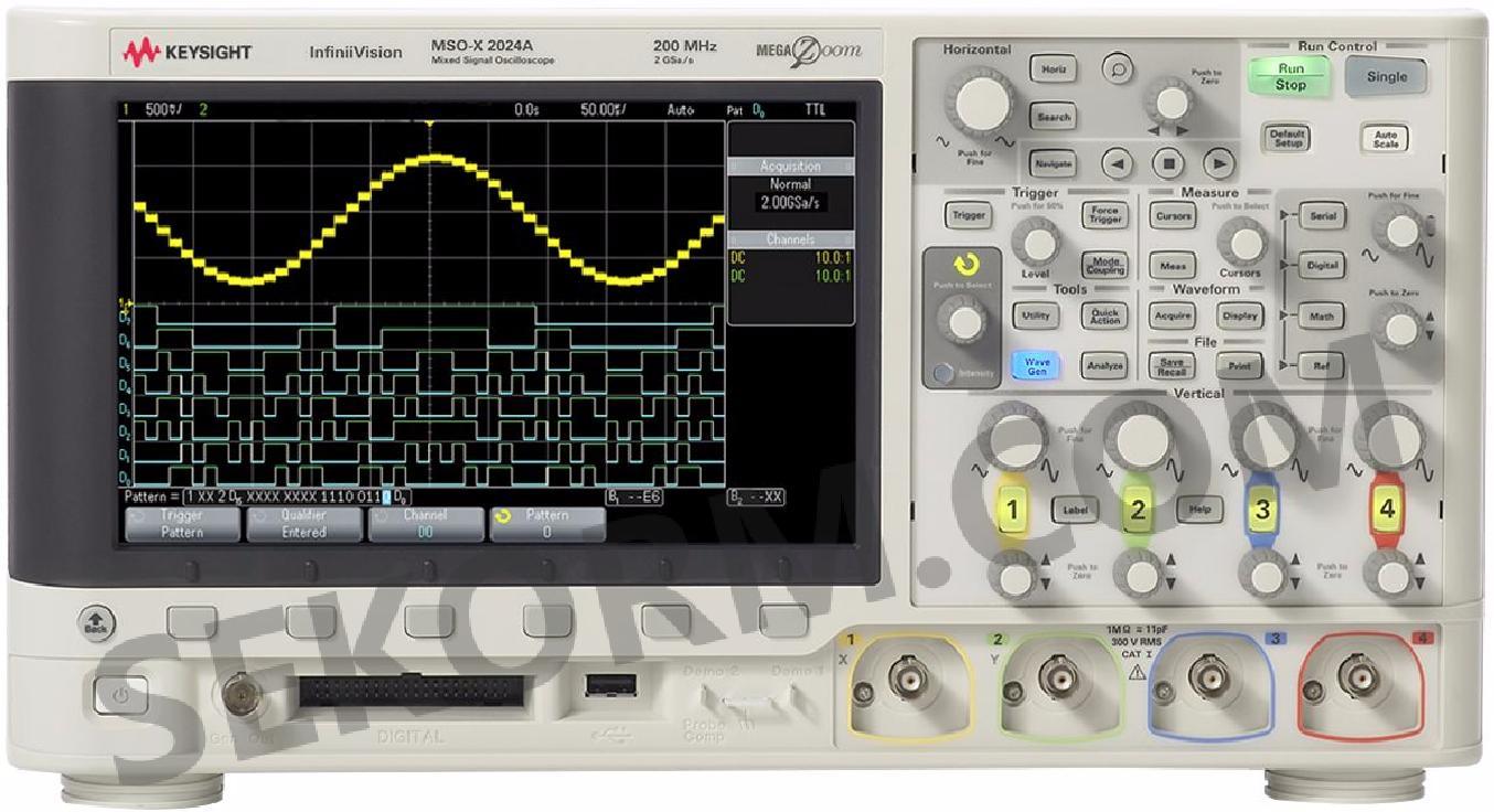 启动/关闭,输出波动,电源抑制比 dsox2024a信号示波器的外观形状: 世