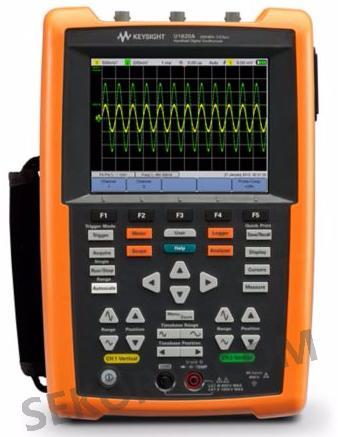 u1620a手持式数字示波器的外观形状