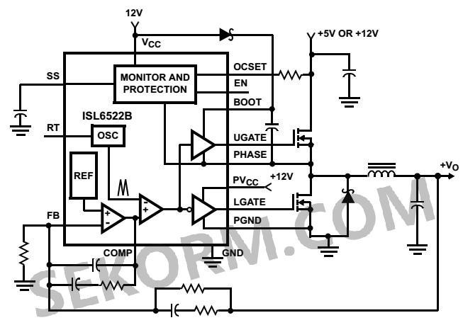 【产品】降压同步整流pwm控制器,专为mcu而设计的dc-dc转换芯片