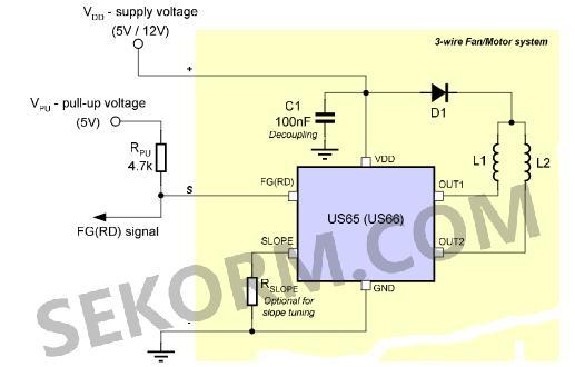 【产品】低噪声双线圈风扇驱动器,适用于大电流输出设备