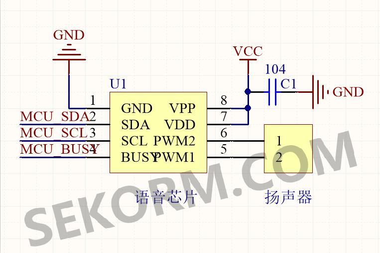 pwm直接驱动电路原理图