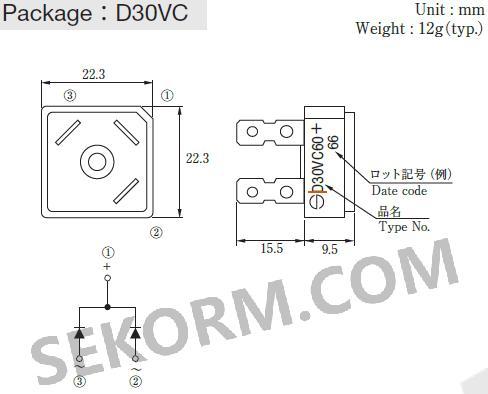 【产品】600v,30a整流二极管助力大功率电路,ifsm最大