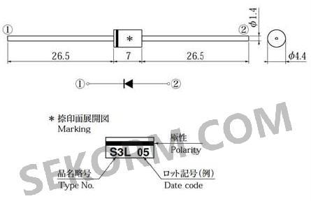 【产品】用于高频脉宽调制电路的快恢复二极管,最大反向电压为600.0v